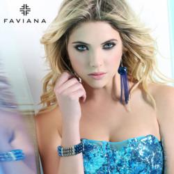 Ashley Benson - The Face of Faviana