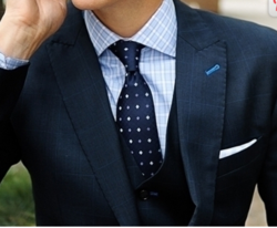Online Tie Retailer Offers Men a Complete Guide to Mixing Different Patterns