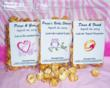 Personalized Caramel Corn Wedding Party Favors