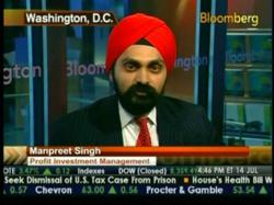 Manpreet Singh of Seva Call is interviewed by Bloomberg in DC 2012