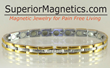 Magnetic bracelet relieves pain in seconds announces Superior...