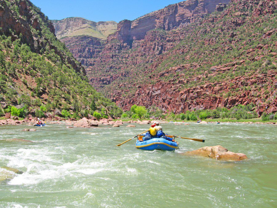 Dinosaur National Monument Rafting Company Announced 2014