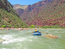 Multi-day Green River rafting trips.