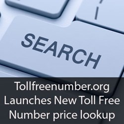 Tollfreenumber.org Launches new toll free number price lookup