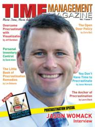 Jason Womack On The Cover Of Time Management Magazine Issue 7