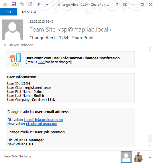 get branded sharepoint alerts and reminders with harepoint