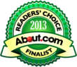 Shopper selected as a 2013 About.com Readers' Choice Awards...