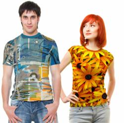 All over t-shirt printing by Photo2Fashion