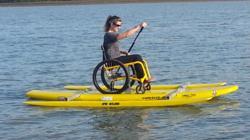 Spinal Cord Injury Adaptive Paddleboard