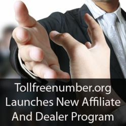 Tollfreenumber.org Launches new affiliate program and dealer program