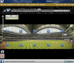 Major League Baseball, GigaPan, Milwaukee Brewers, Colorado Rockies