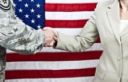 Military Hand Shake