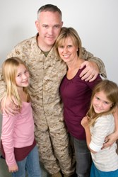 Military family and spouse
