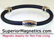 Carbonized Titanium Magnetic Bracelet Relieves Pain, Announced Pain Free Living