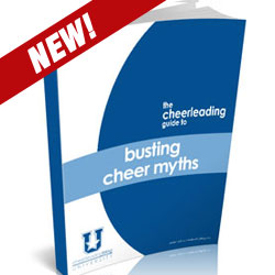 A new, free eBook on the myths of cheerleading is now available for download from Cheerleading Blog University, supported in part by cheerleading apparel company, Omni Cheer.