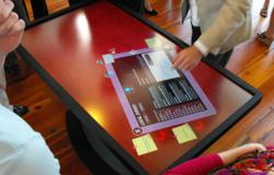 Multi-Touch Table at St Landry Parish Tourist Center