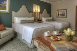 Double Queen guestroom at Loews Portofino Bay Hotel at Universal Orlando