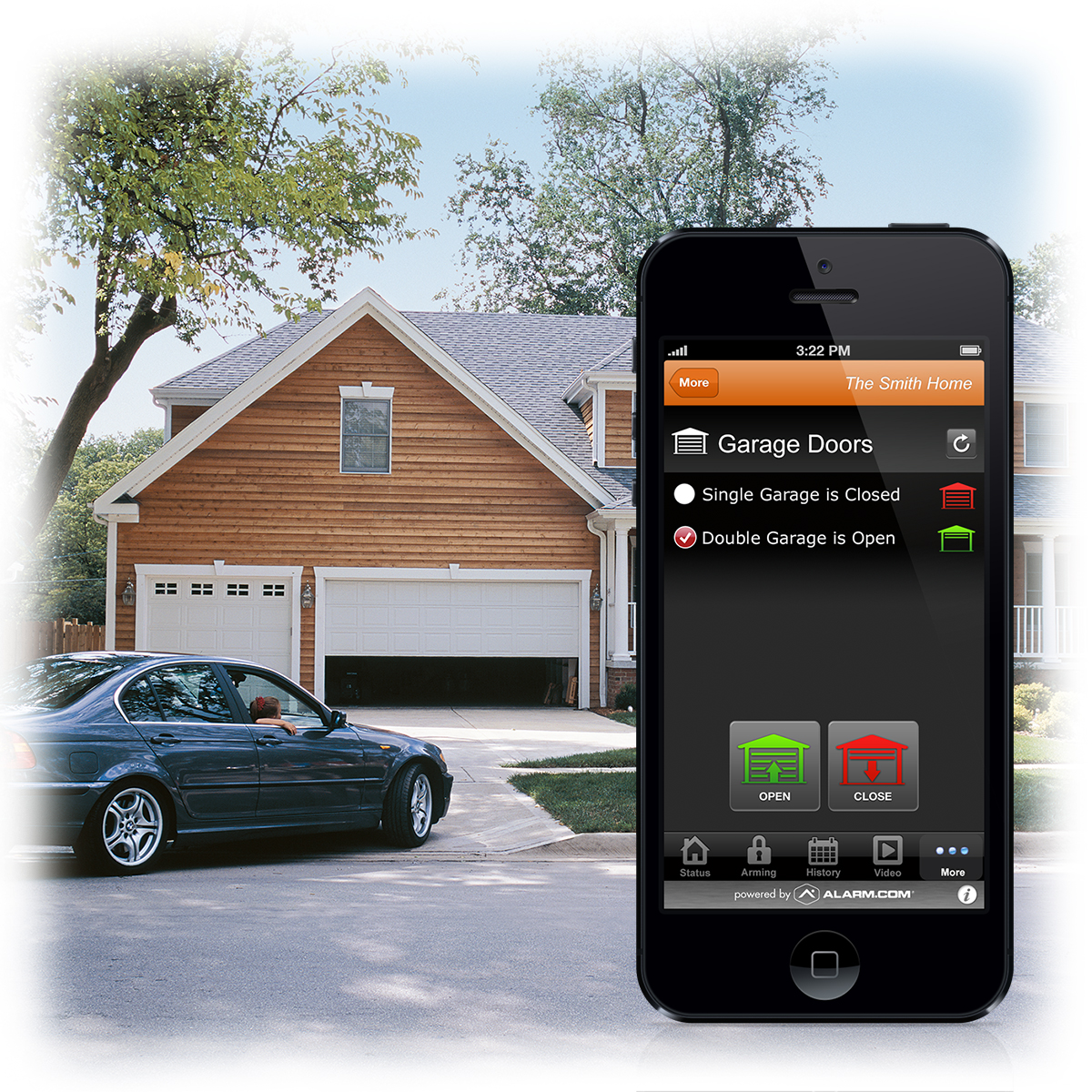 Alarm Com 174 Partners With Liftmaster 174 To Integrate Garage