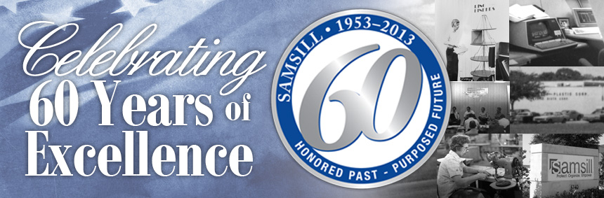 samsill corporation marks 60th anniversary with celebration that