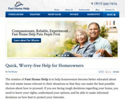 Fast Home Help Launches New Website