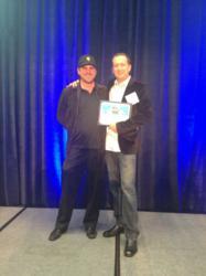 Daniel Sullivan and Michael Chagala at Award Celebration