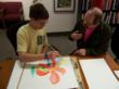 MIchael Tolleson, mentoring Ted, a student with Aspergers