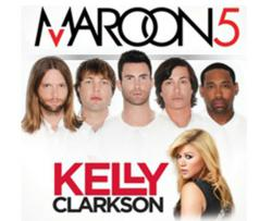 Maroon 5 Kelly Clarkson Tickets