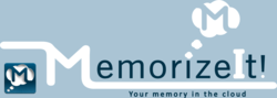 MemorizeIt! Your memory in the cloud.
