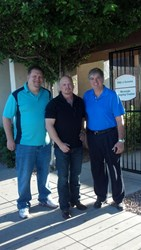 Mitch Fletcher, Chief Engineer of the Human Space Business Segment at Honeywell with David Gergen and Dr. Gary Core