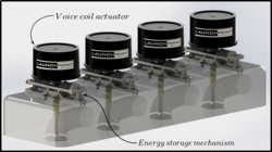 Concept Image for Valve Implementation on Four-Cylinder Head