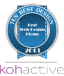 Kohactive Receives First 10 Best Design Award for Excellence in Web...