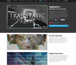 FCPX Effects - Final Cut Pro X Plugins - Pixel Film Studios - TRANSTATIC - Static and Interference