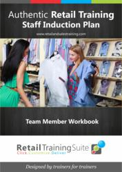 Employee and Staff Handbook/Induction Plan/ Induction Program for Retail Training