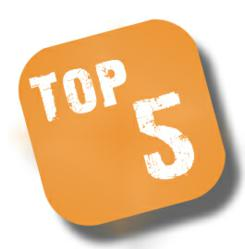 Top 5 Web Hosting