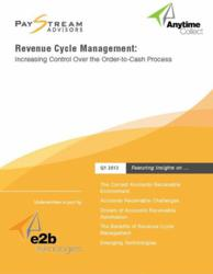 creadit collections management white paper 2013 Revenue Cycle Management report: Order-to-Cash Process