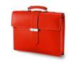 Giorgio Fedon 1919 Calf Leather Men's Briefcase in Orange (or Black)