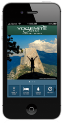 The Yosemite Sierra Visitors Bureau has releaseda  new app for iPhone and Android devices with the help of MobiManage