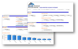 Inventory Income Statement, the new analytics tool from Blue Ridge