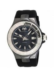 Technomarine Men's Classic Black Silicon Watch