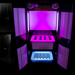 The Deluxe 3.0 LED Grow Box by SuperCloset