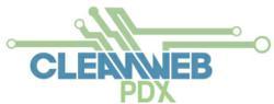 Cleanweb PDX logo