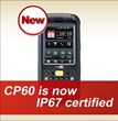 CipherLab Presents IP67 protection feature in CP60