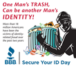 'Secure Your ID' Day Sponsored by Better Business Bureau of Eastern...