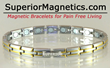 Superior Magnetics released New Line of Magnetic Jewelry for Pain