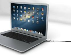 Maclocks New MacBook Pro Retina Lock Bracket with Wedge - World's Slimmest Security Cable Lock