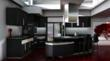 3D Graphic of Kitchen
