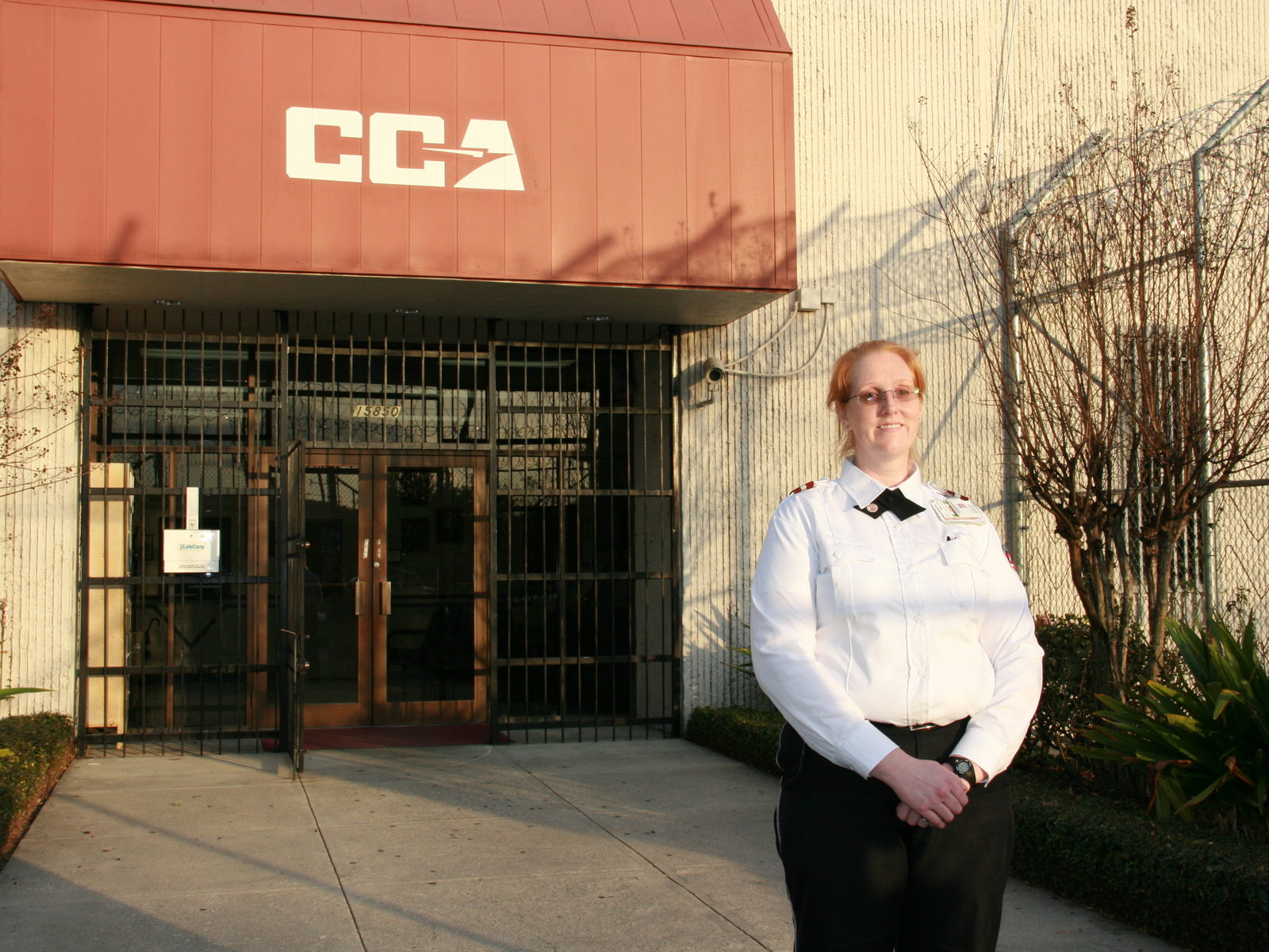 ccas robert lacy named �warden of the year� by north