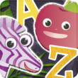 ABC Animal vs. Veggie Flash Cards - Kids Can Learn the Alphabet from A...