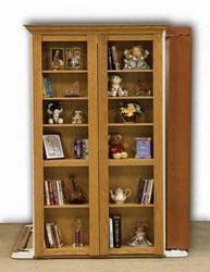 New Secret Door Kits From Rockler - Kits Make Easy-to-Build Secret Passage Doors That Replace Existing Doors with Functional Bookshelves