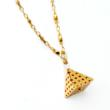 "Pyramid Necklace, ""Every Day by Minabea"" Collection"
